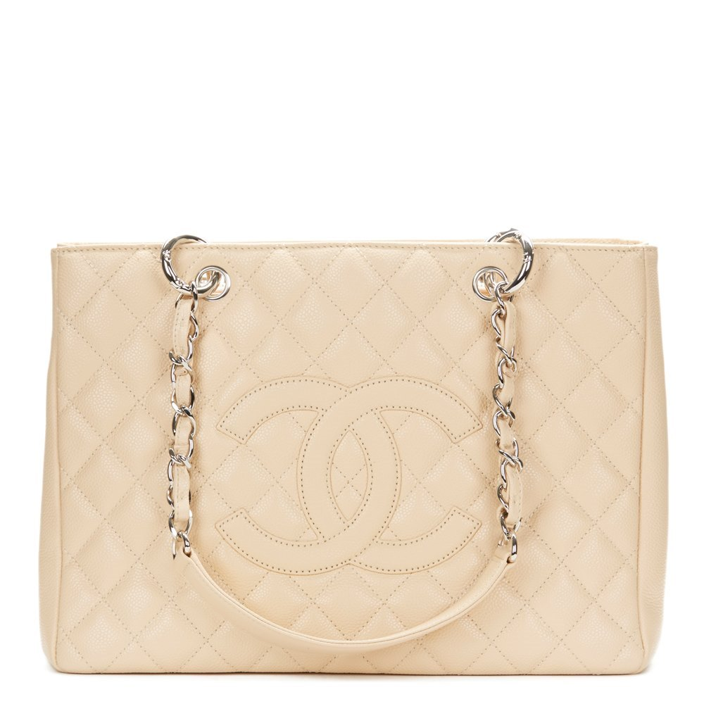 8160d2802186 Chanel Grand Shopping Tote 2009 HB1179 | Second Hand Handbags