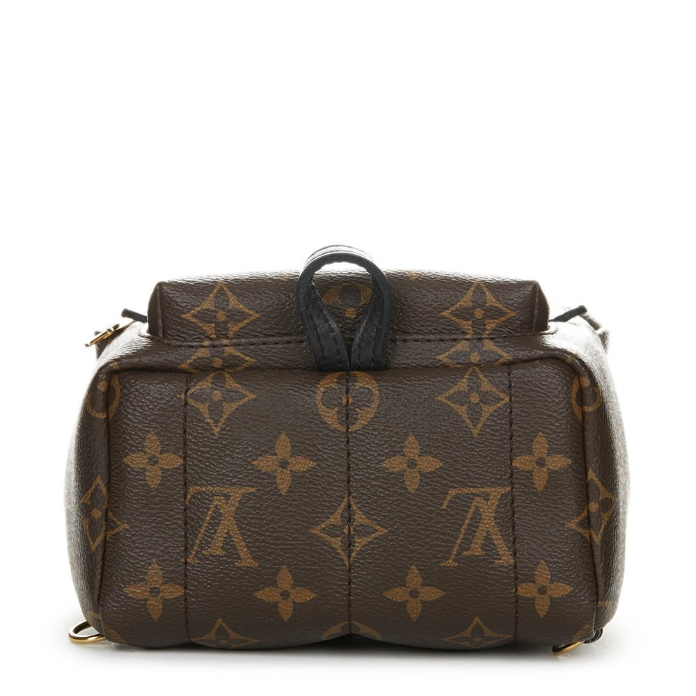 0738d1549480 Louis Vuitton Brown Monogram Coated Canvas Palm Springs Backpack Mini