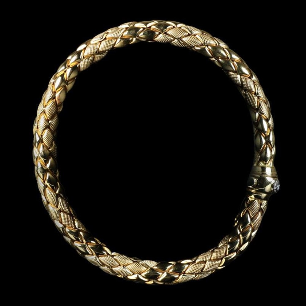 Mappin & Webb Mappin & Webb Chimento 18K Rose Gold Stretch Rope Bracelet