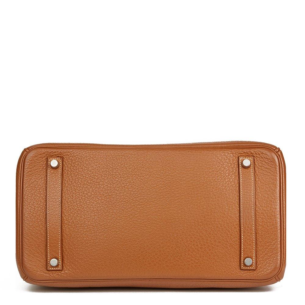 Hermès Gold Clemence Leather Birkin 35cm