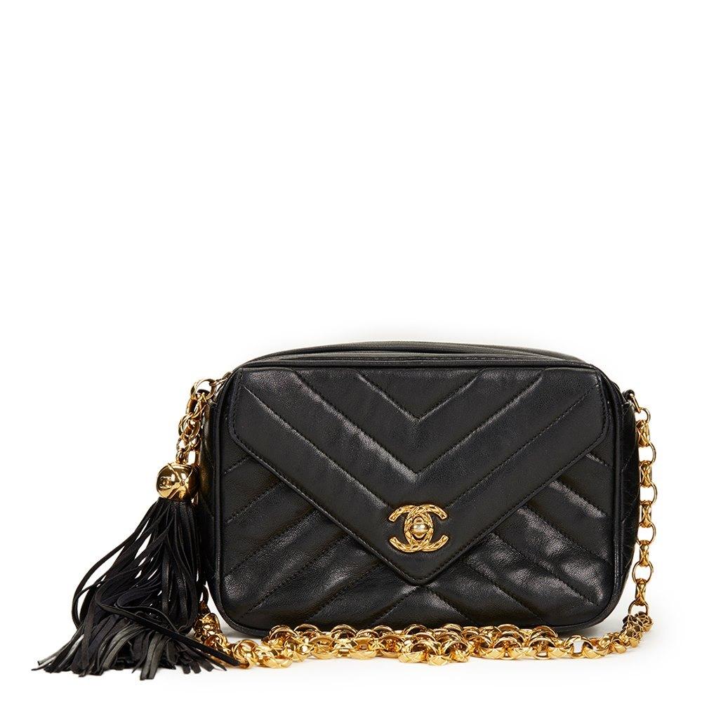 ac000e0492a5 Chanel Camera Bag 1992 HB1219 | Second Hand Handbags | Xupes