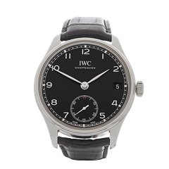 IWC Portuguese Hand Wound Eight Days 43mm Stainless Steel - IW510202
