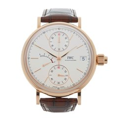 IWC Portofino Hand Wound Mono Pusher 45mm 18K Rose Gold - IW515104