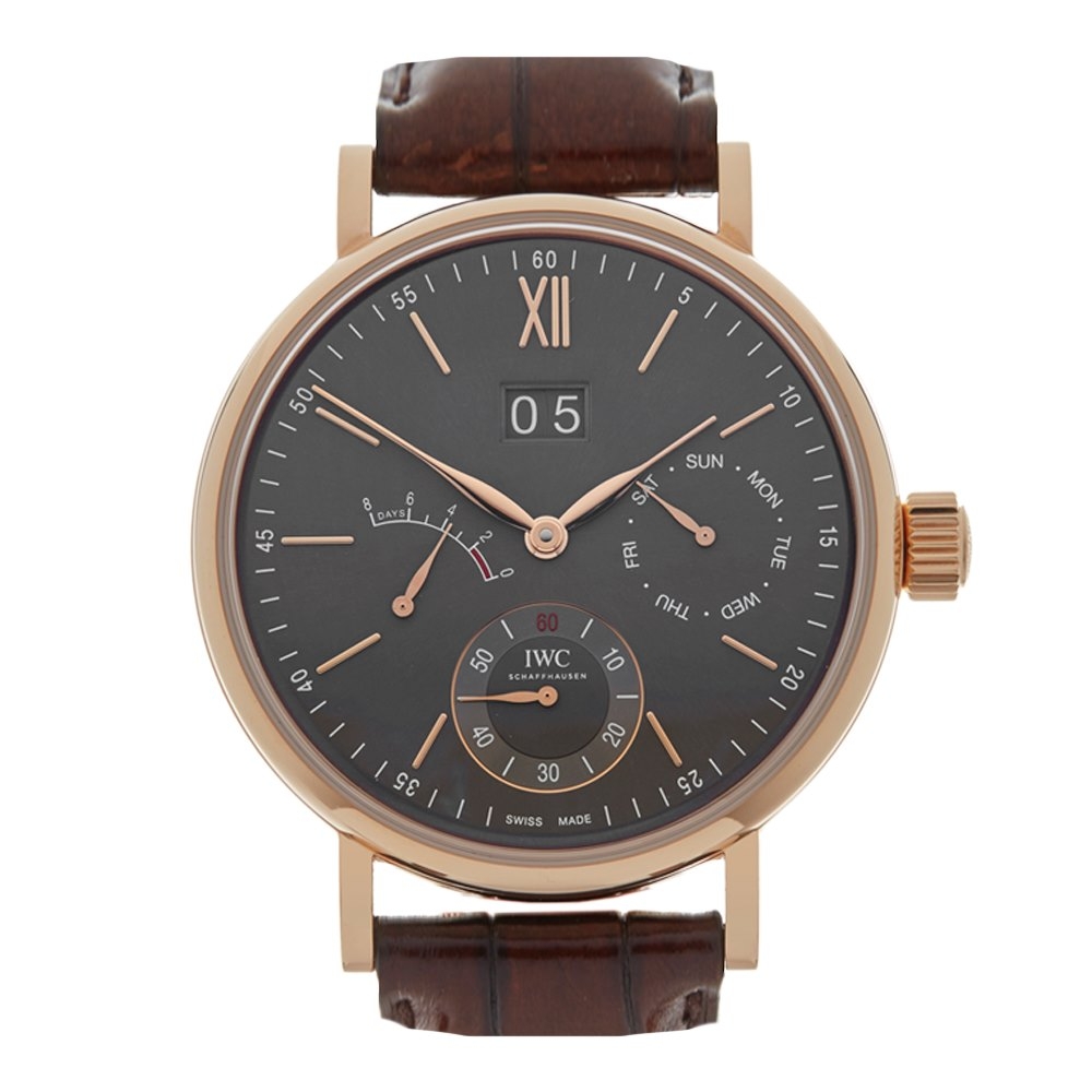 IWC Portofino Eight Days 18k Rose Gold IW516203
