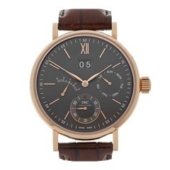 IWC Portofino Eight Days 45mm 18K Rose Gold - IW516203
