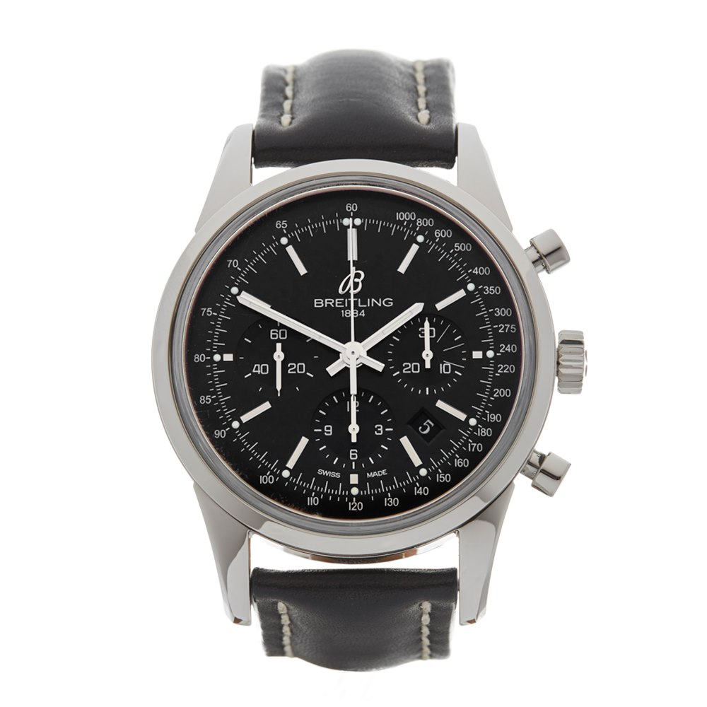 a0f10dd2d33 Breitling Transocean AB0152 2012 W4279 | Second Hand Watches | Xupes