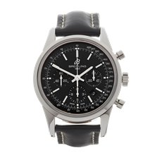 Breitling Transocean Chronograph 43mm Stainless Steel - AB015212