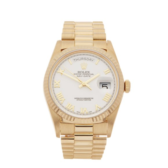 Rolex Day-Date 36 18k Yellow Gold - 18238