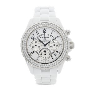 Chanel J12 Diamond Chronograph Ceramic - 1008