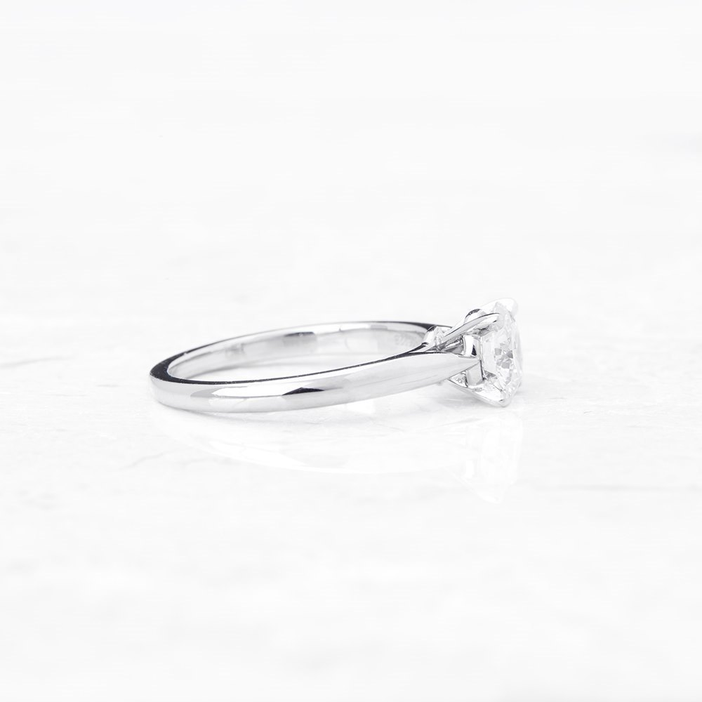 Cartier Platinum 1.02ct Diamond Engagement Ring