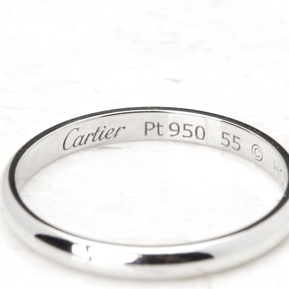 Cartier Platinum Wedding Band