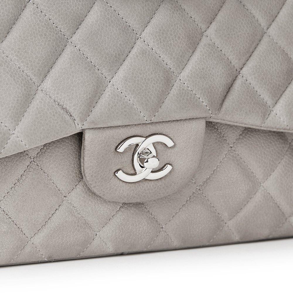 a6b48e0466eb Chanel Jumbo Classic Double Flap Bag 2012 HB1157 | Second Hand Handbags
