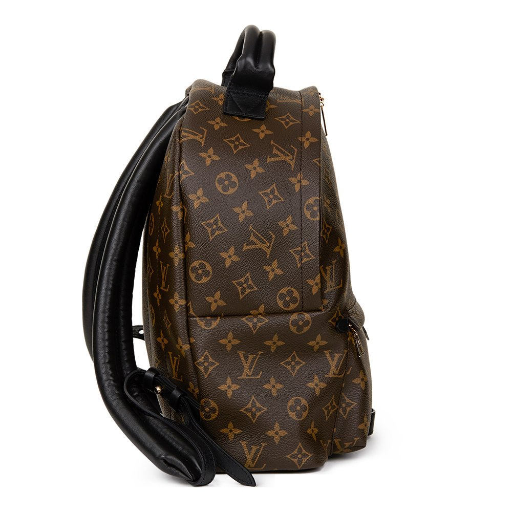6874794ae04b Louis Vuitton Brown Monogram Coated Canvas Palm Springs Backpack MM