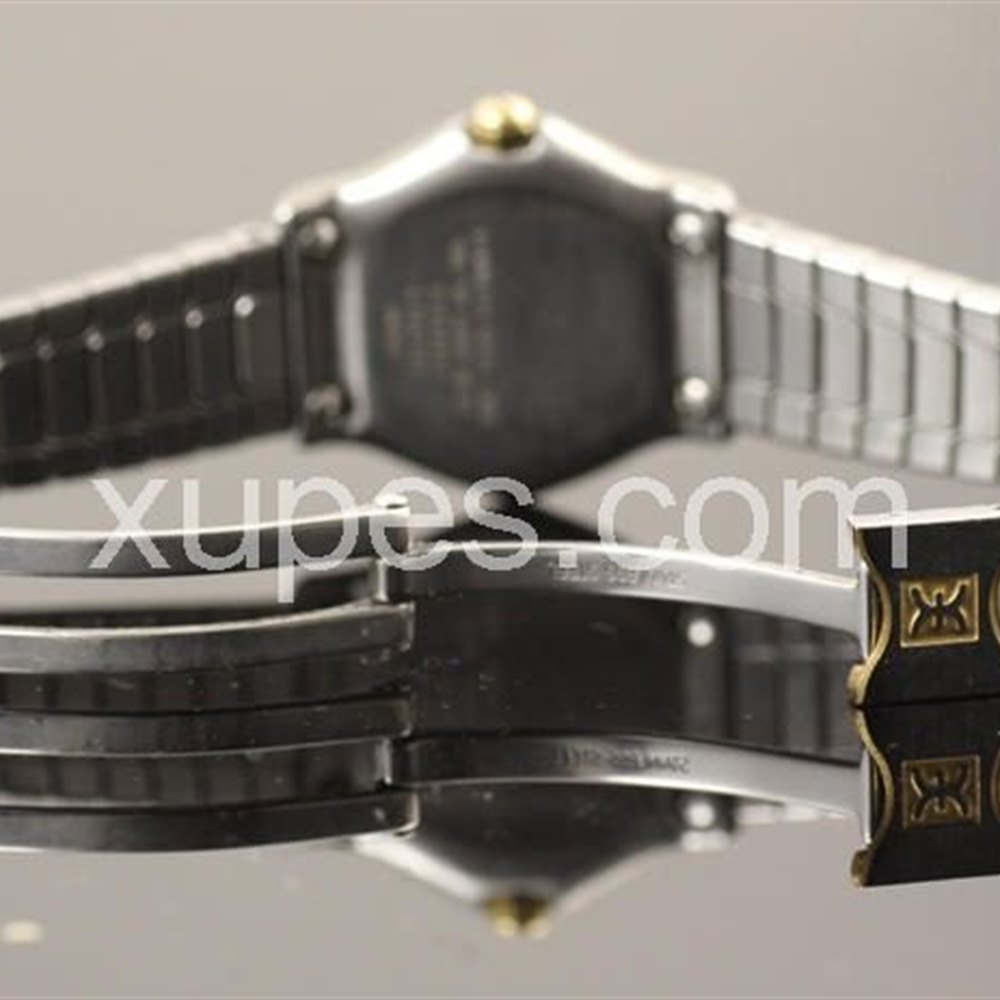 Ebel Sport Wave Stainless steel with 18k yellow gold bezel