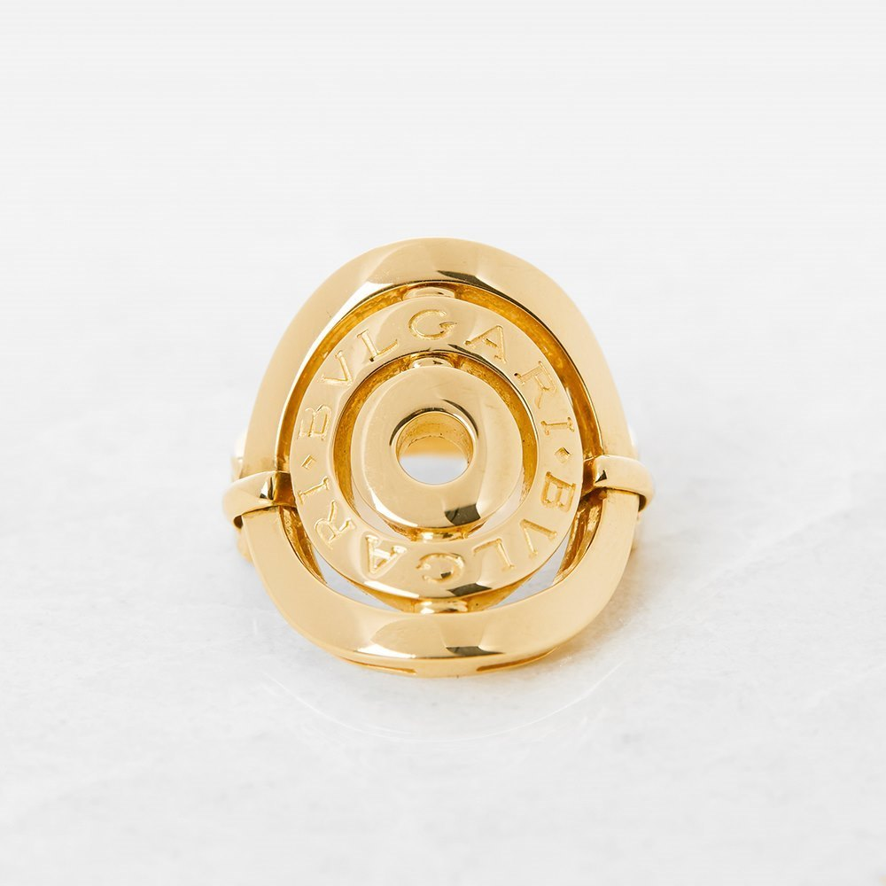 Bulgari 18k Yellow Gold Cerchi Ring Size I