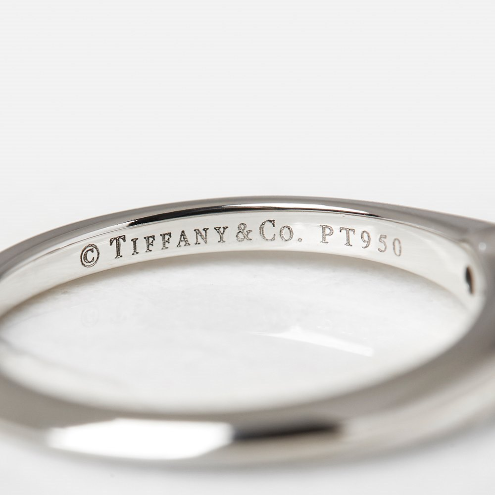 Tiffany & Co. Platinum 0.20ct Diamond Engagement Ring