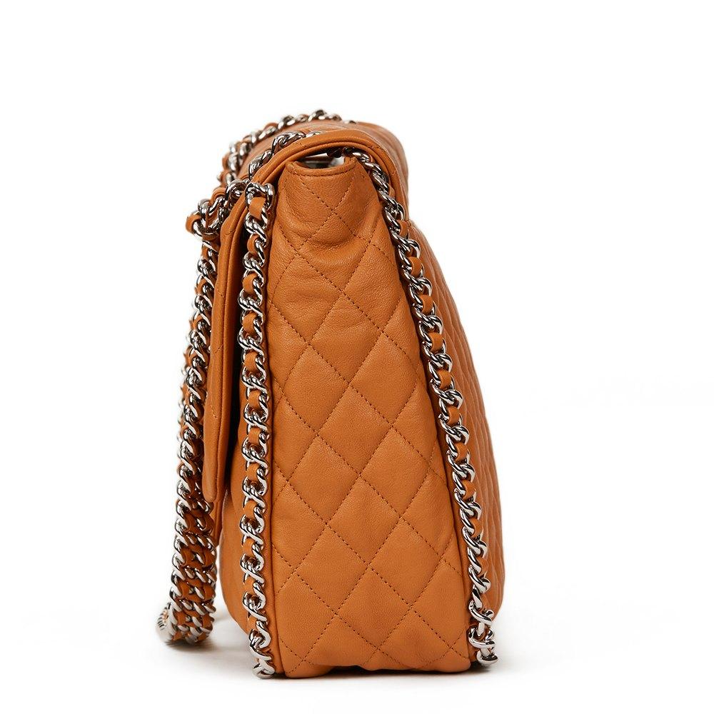 96df0a612b0d Chanel Chain Around Maxi Flap Bag 2010's HB1278 | Second Hand Handbags