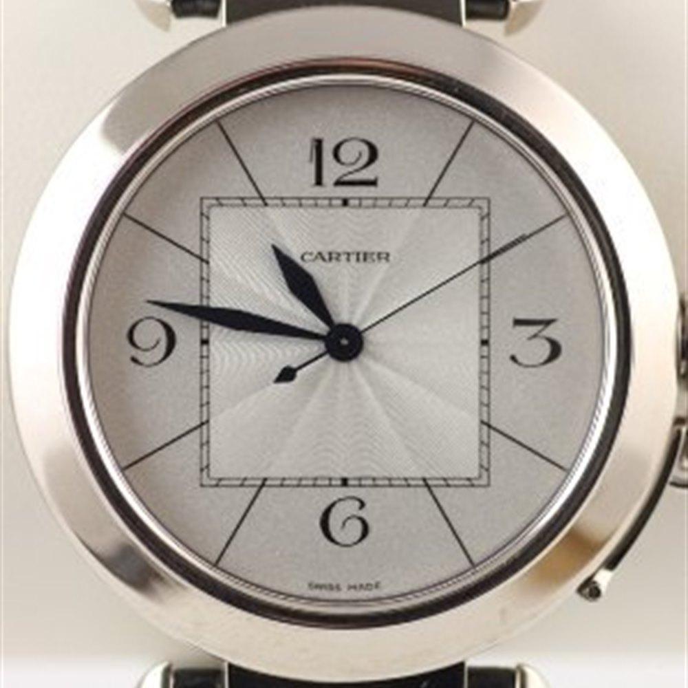 Cartier Pasha 18k White Gold