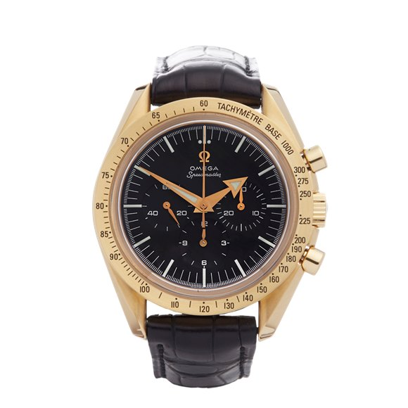Omega Speedmaster 150th Anniversary Chronograph 42mm 18K Yellow Gold - 3693.50.81