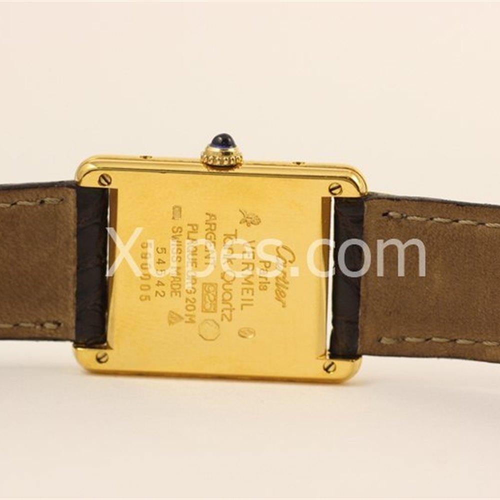 Cartier Must De Cartier 18k Yellow Gold Plated on 925 Silver
