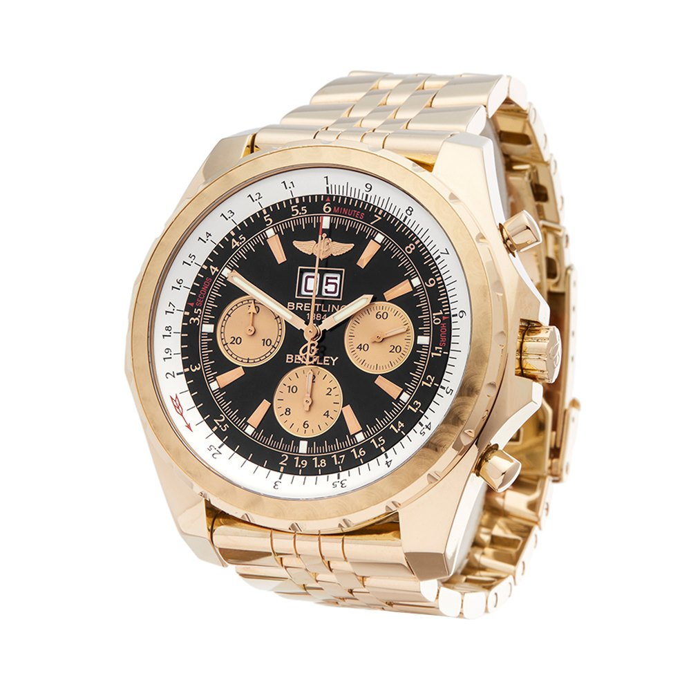 owned breitling bentley chronograph pre watches flying b