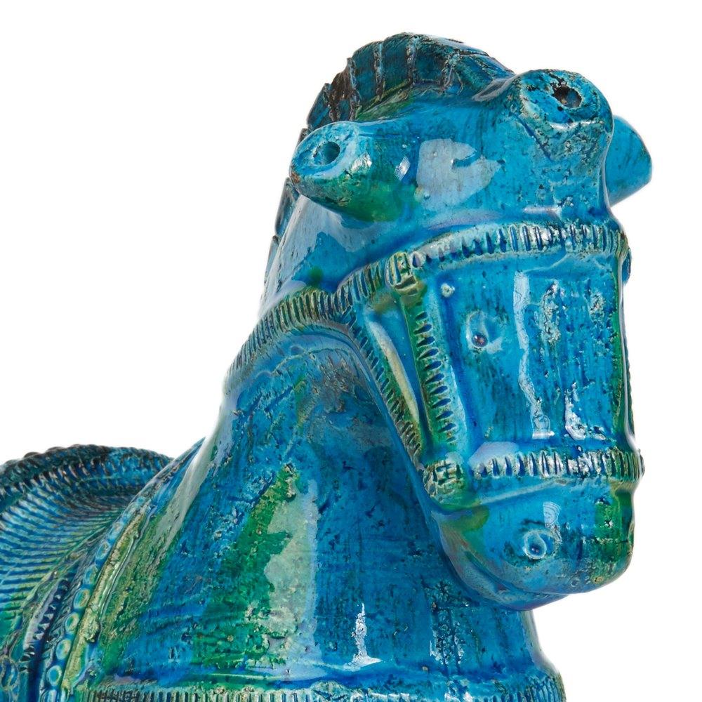 Italian Bitossi Ceramic Horse Circa 1960-69