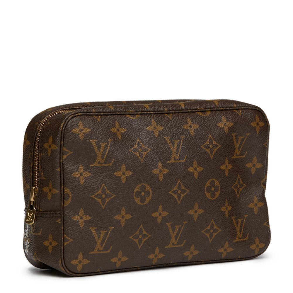 Louis Vuitton Hand Painted sick Of It All Toiletry Pouch DJ6c31d