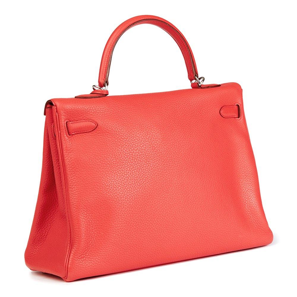 89aa9530718e98 ... store hermès bougainvillier togo leather kelly 35cm retourne b41d7 db4b7