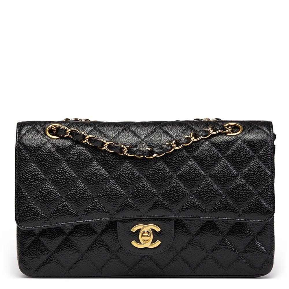 f091fa7eed89 Chanel Medium Classic Double Flap Bag 2003 HB1367   Second Hand Handbags