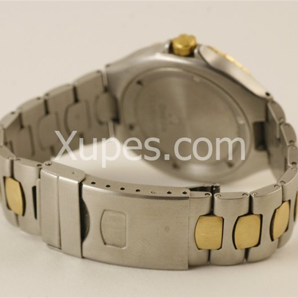 Omega Seamaster Stainless Steel/18K Yellow Gold Bezel