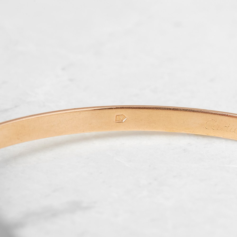 Cartier 18k Yellow, White & Rose Gold Trinity Bracelet