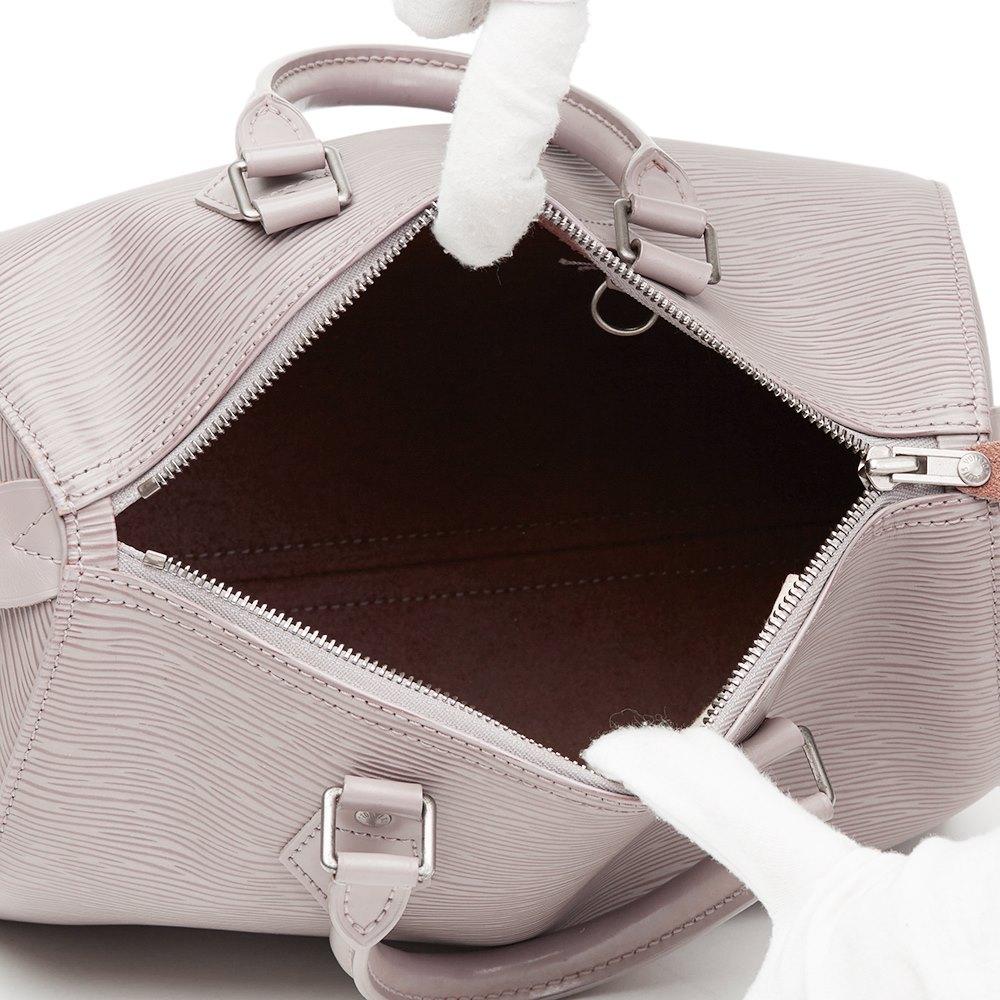 Louis Vuitton Lilac Epi Leather Speedy 25 7dbe0ef2b71f6