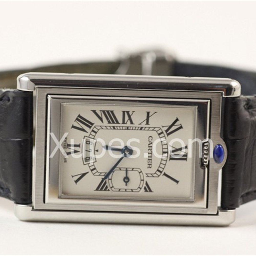 Cartier Tank Basculante Stainless Steel *********