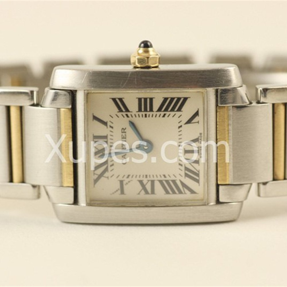 Cartier Tank Francaise 18k/Stainless Steel *********
