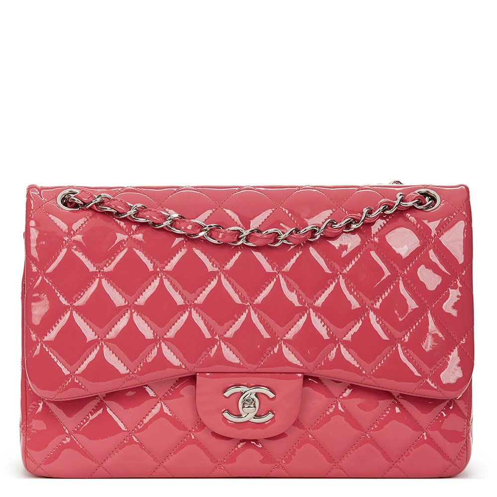 fa3fce9d0aa8 Chanel Jumbo Classic Double Flap Bag 2014 HB1398 | Second Hand Handbags