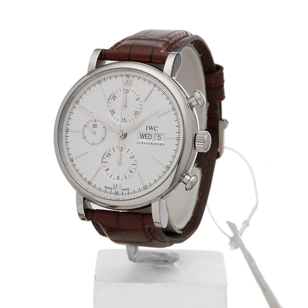 online retailer 107a5 87f71 Portofino Chronograph Stainless Steel IW391007