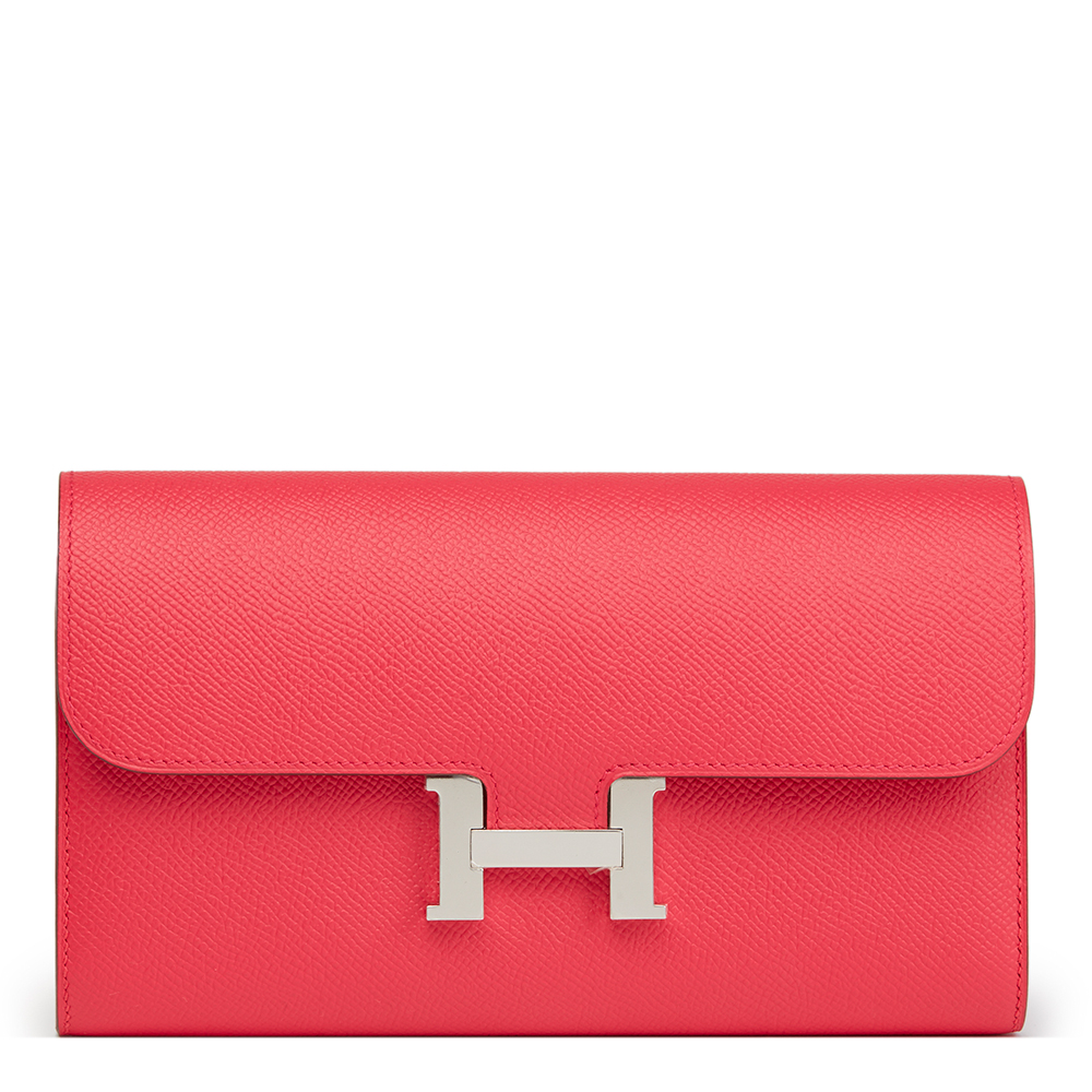 ... discount hermès rose extreme epsom leather constance long wallet 5280a  634f3 sweden different women hermès evelyne iii 16 tpm mini red taurillon  clece ... d5c6b8725b