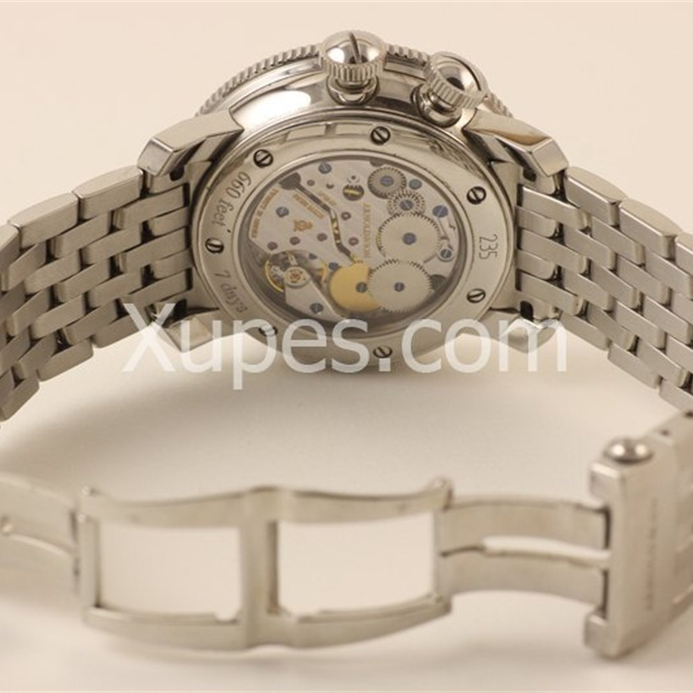 Arnold & Son White Ensign Stainless Steel 1G2AS.B02A