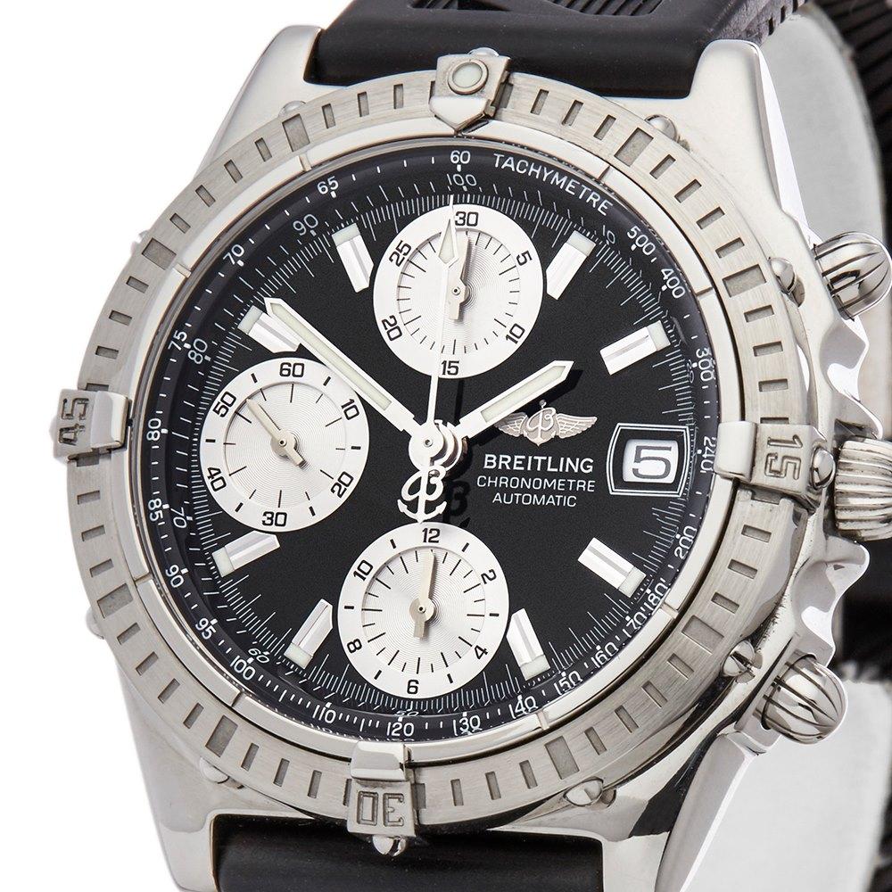 Breitling Chronomat Chronograph Stainless Steel A13352