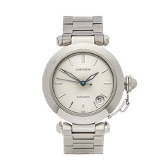 Cartier Pasha de Cartier 35mm Stainless Steel - 1031 or W31010M7