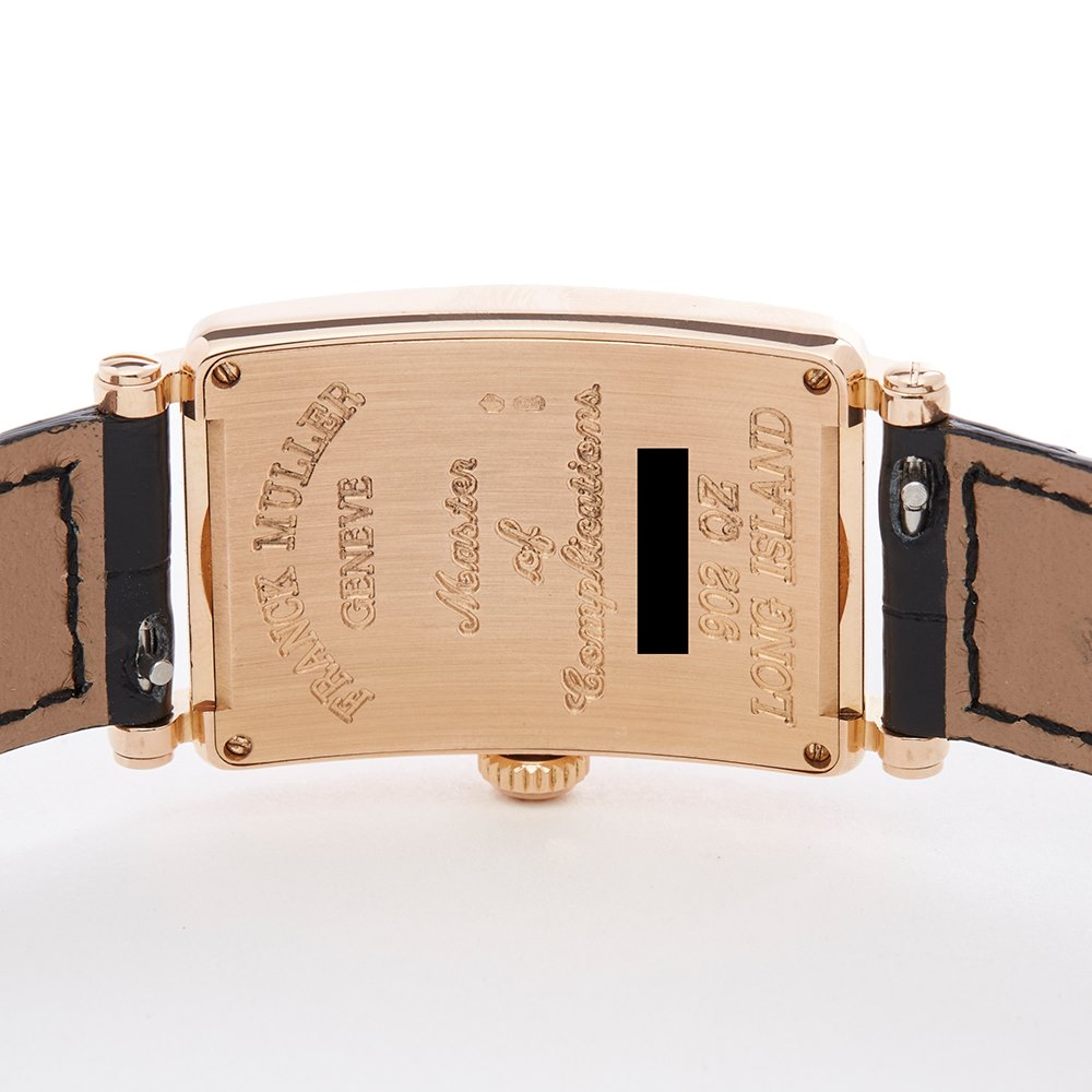 Franck Muller Long Island Rose Gold 902QZ