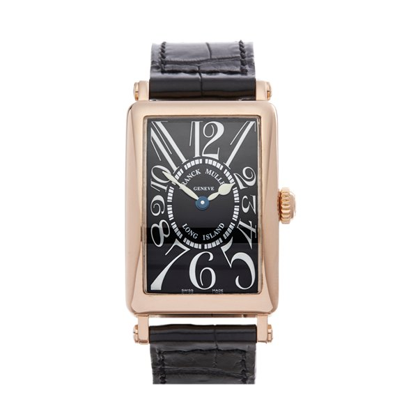 Franck Muller Long Island 18K Rose Gold - 902QZ