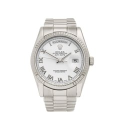 Rolex Day-Date 36mm 18K White Gold - 118239