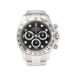 Rolex Daytona Chronograph 40mm 18K White Gold - 116509