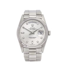 Rolex Day-Date 36mm 18K White Gold - 18239