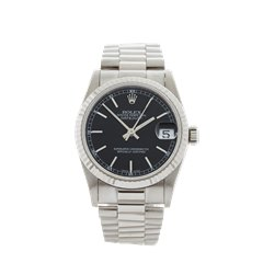 Rolex DateJust 31 18k White Gold - 68279