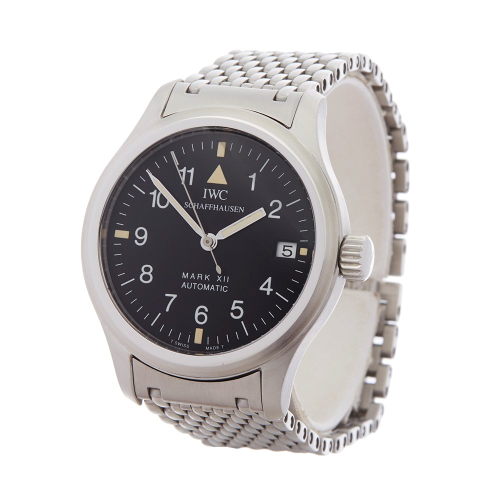 211e227cf6d6 IWC Mark XII Stainless Steel IW3241