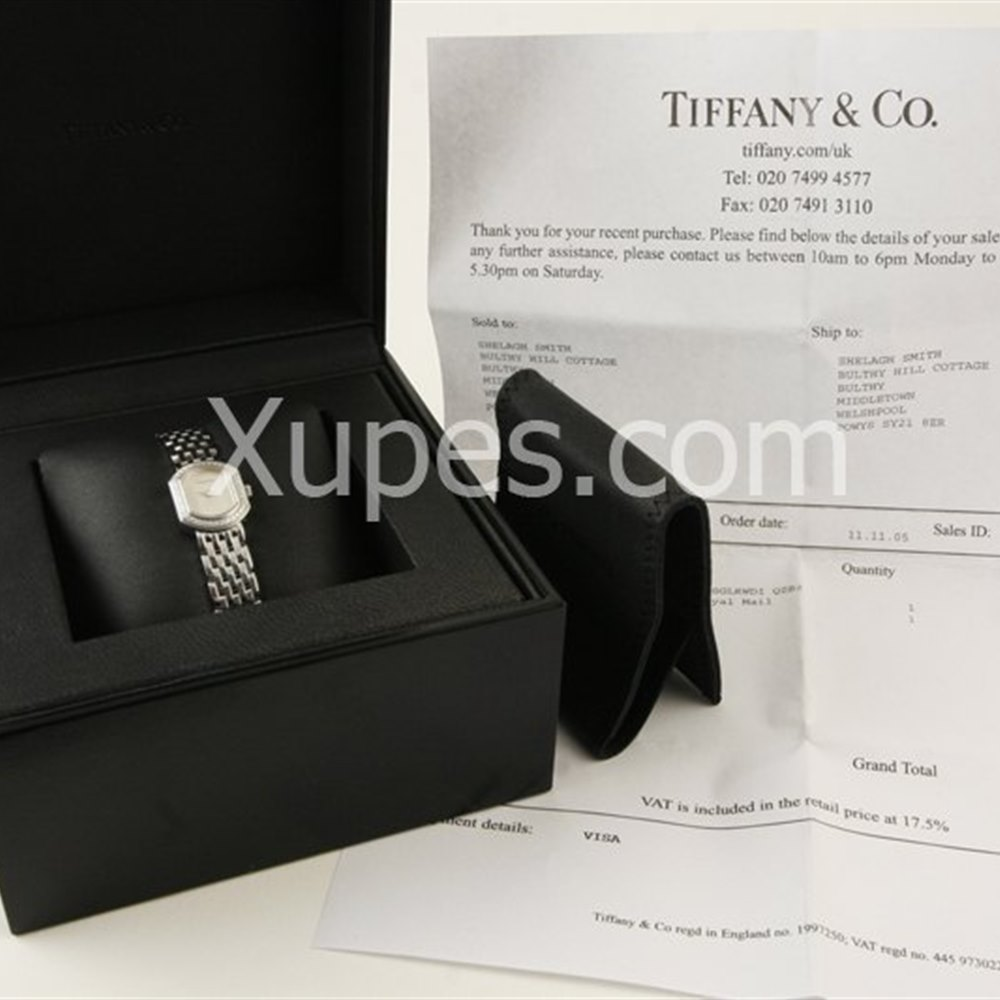 Tiffany Petite 18k White Gold