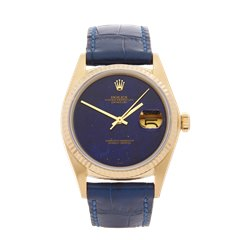Rolex Datejust 36 Lapis Lazuli 36mm 18K Yellow Gold - 16018