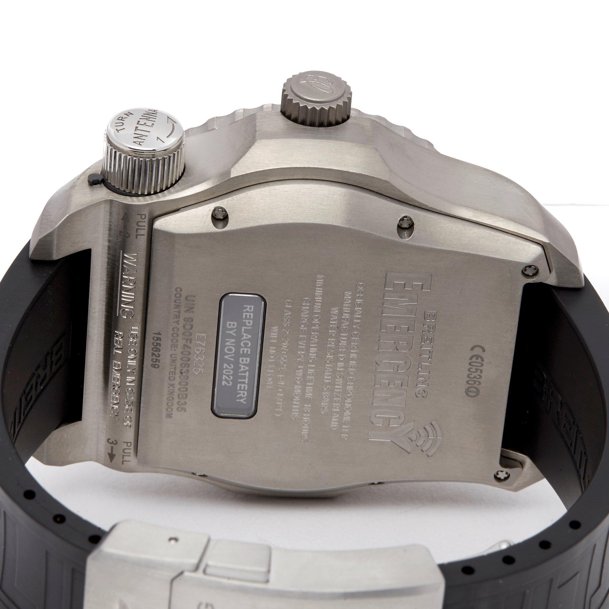 Breitling Emergency II Titanium E76325A5